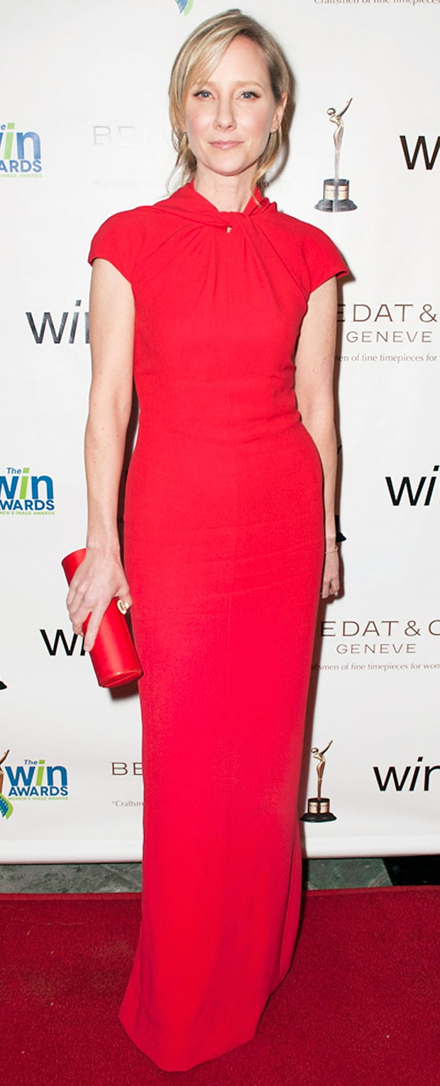 Anne Heche at the Women's Image Awards
