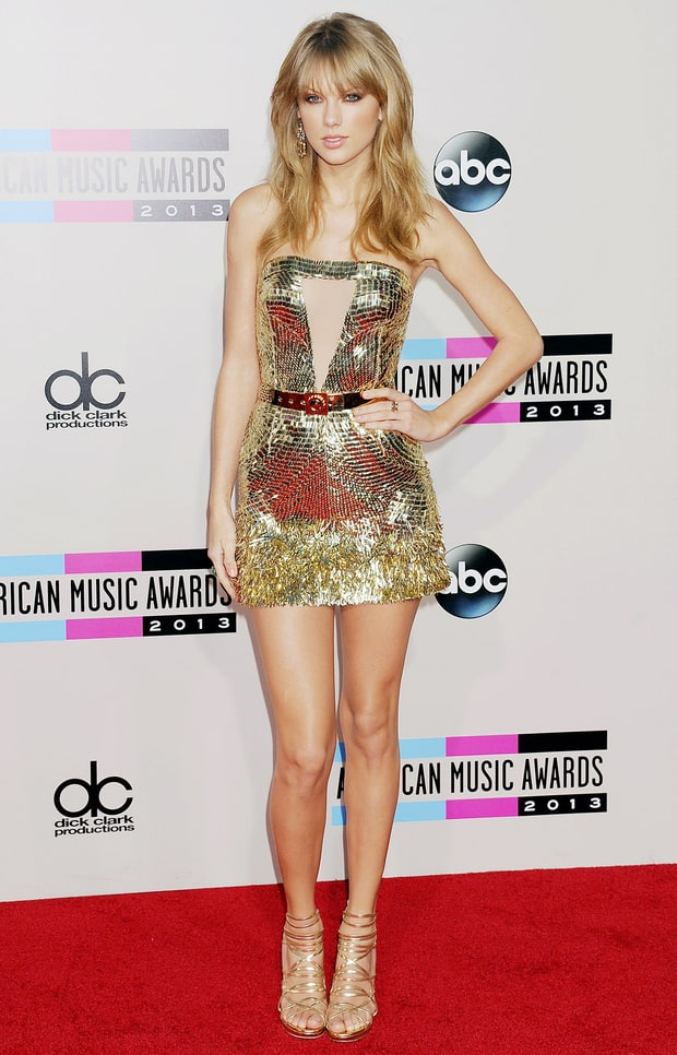 November 2013 Taylor Swift S Red Carpet Style Evolution