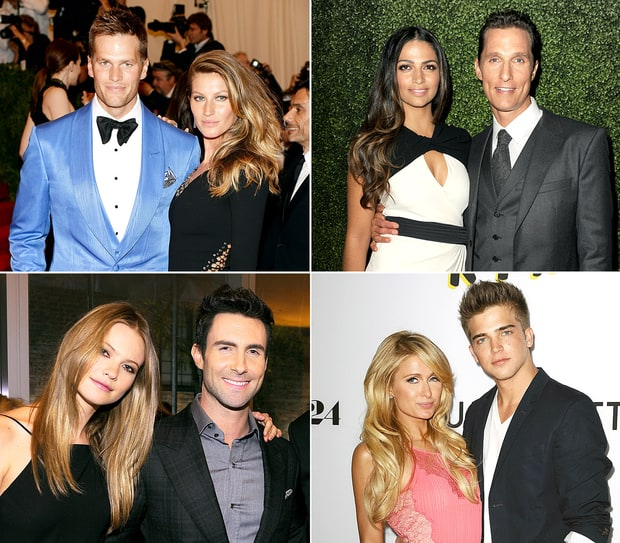 Celebs Who Date Models
