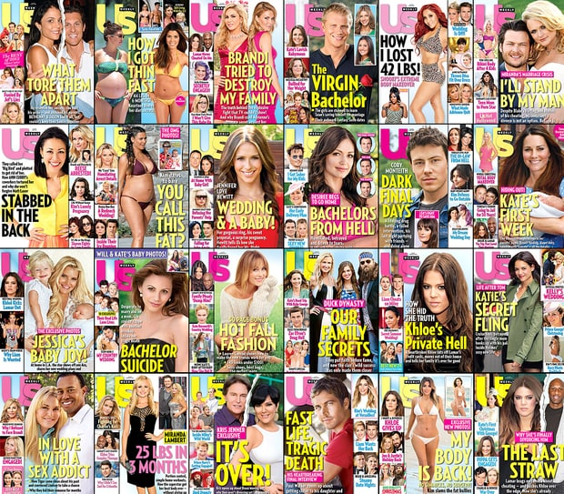 The Year in Us Weekly 2013