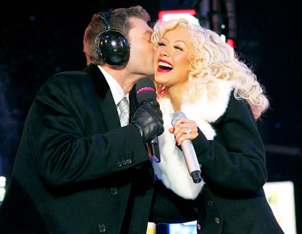 Ryan Seacrest and Christina Aguilera