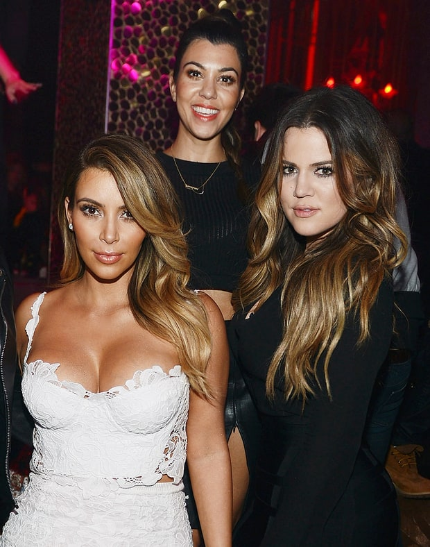 Kim, Khloe, and Kourtney Kardashian