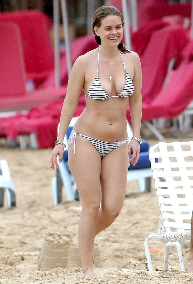 alice eve 2013 winter bikini bodies us weekly