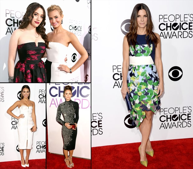 People's Choice Awards 2014: What the Stars Wore