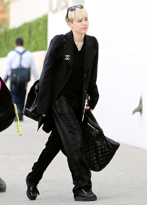 Miley the Bag Lady