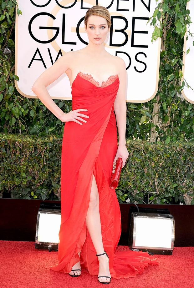 Kristen Connolly | Golden Globes 2014 Red Carpet Dresses Photos: What ...