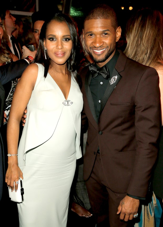 Kerry, Usher and Bump!