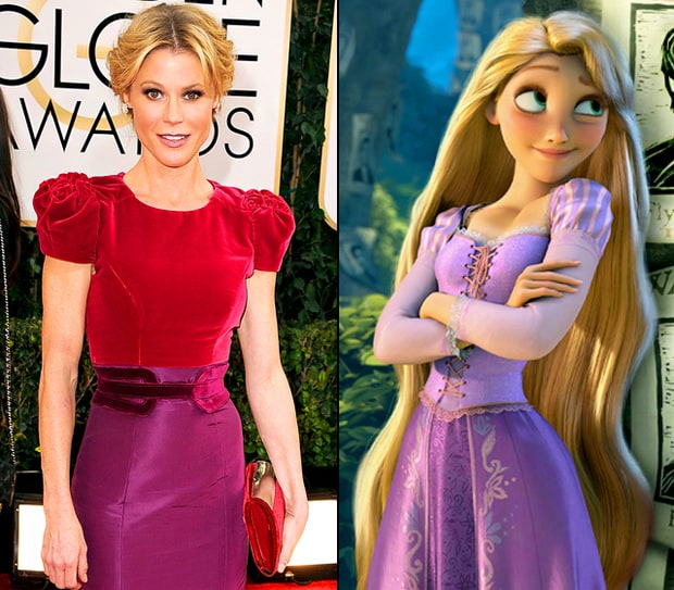 Julie Bowen as Rapunzel