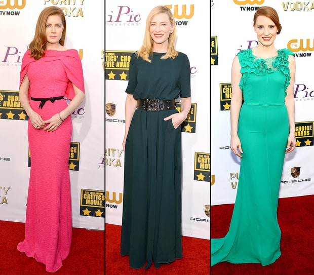 Critics' Choice Awards 2014 Red Carpet: What the Stars Wore