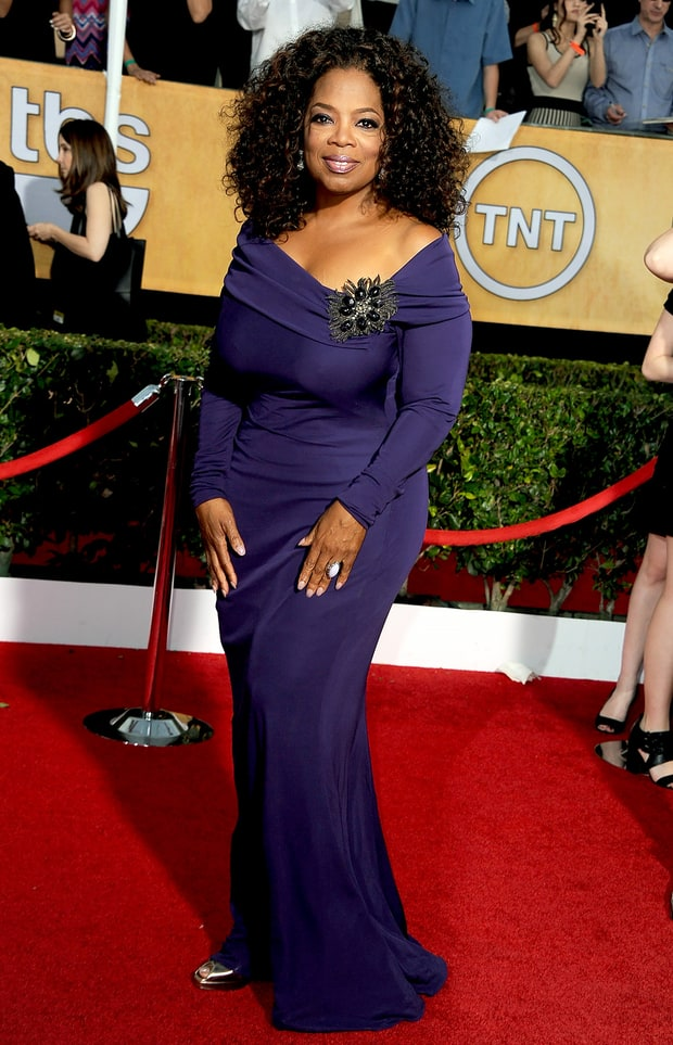 Oprah Winfrey | SAG Awards 2014 Red Carpet Photos: What ...