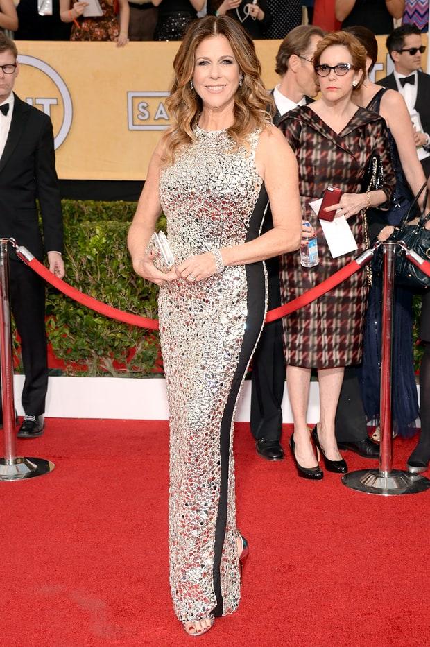 Rita Wilson | SAG Awards 2014 Red Carpet Photos: What the ...
