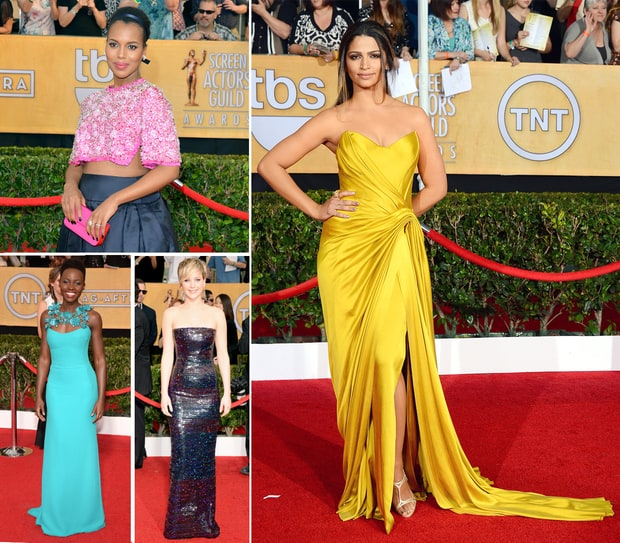 SAG Awards 2014 Red Carpet: What the Stars Wore