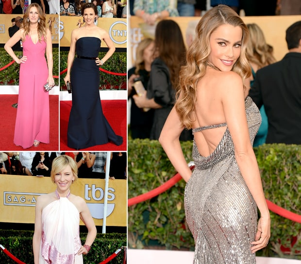 SAG Awards 2014 Best-Dressed: Top 10 Red Carpet Stars