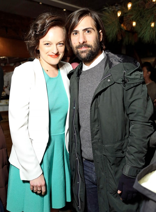Elisabeth Moss and Jason Schwartzman