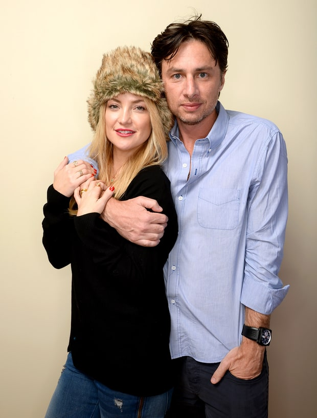 Kate Hudson and Zach Braff