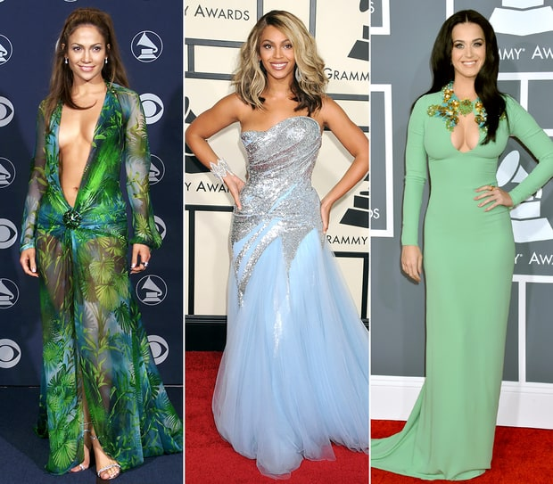 Grammys: Stars' Evolving Red Carpet Looks