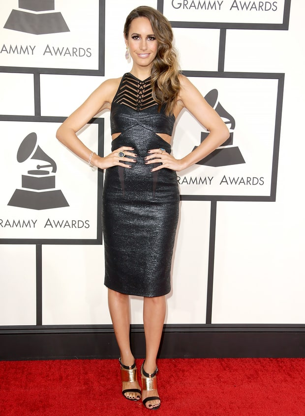 Louise Roe: 2014 Grammy Awards