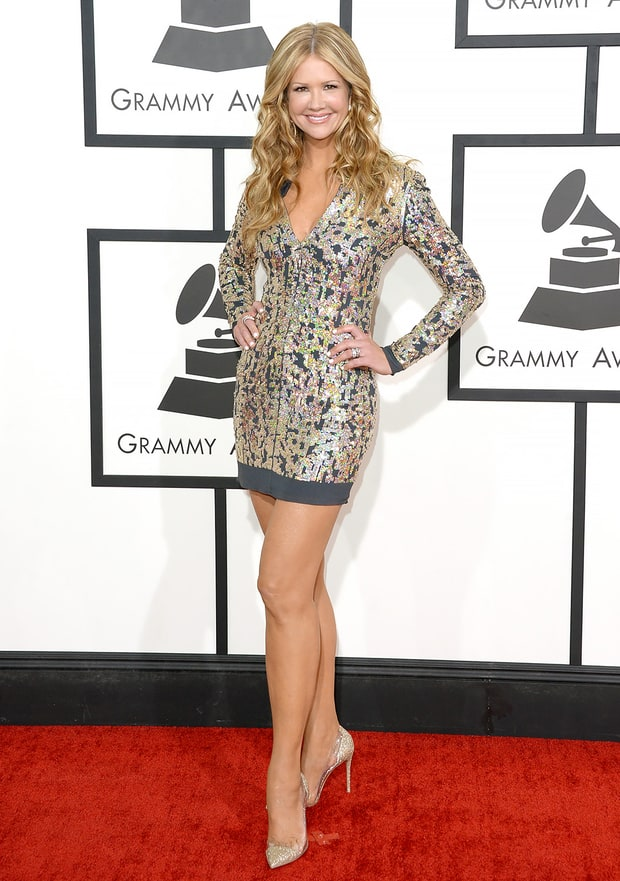 Nancy O'Dell: 2014 Grammy Awards