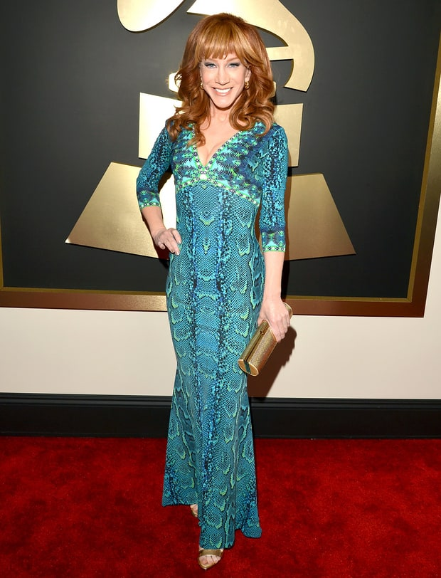 Kathy Griffin: 2014 Grammy Awards
