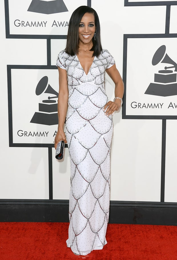 Shaun Robinson: 2014 Grammy Awards