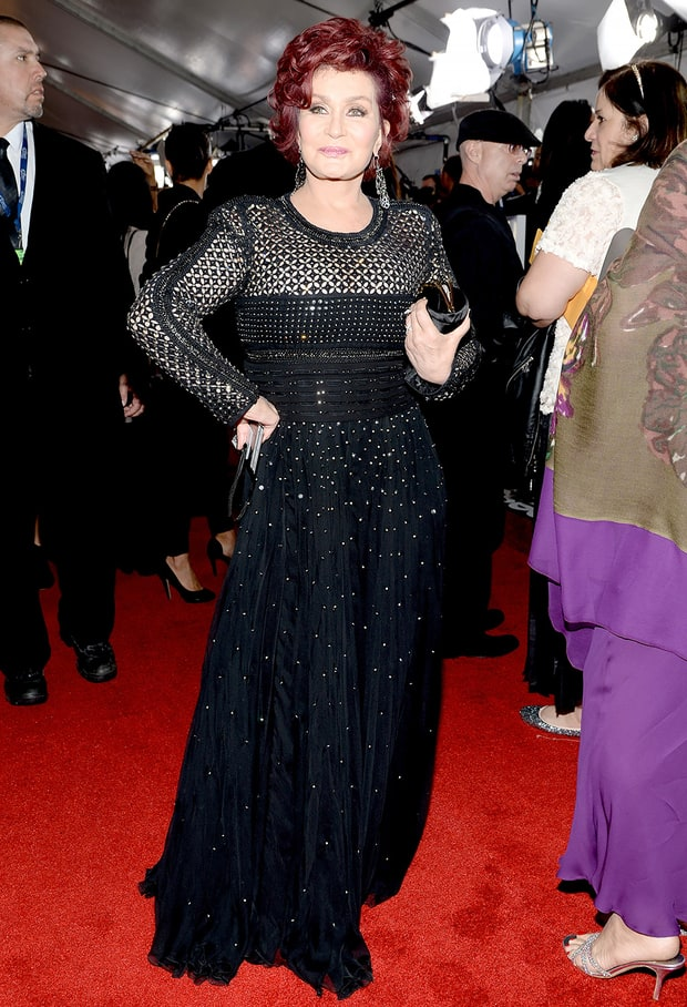 Sharon Osbourne: 2014 Grammy Awards
