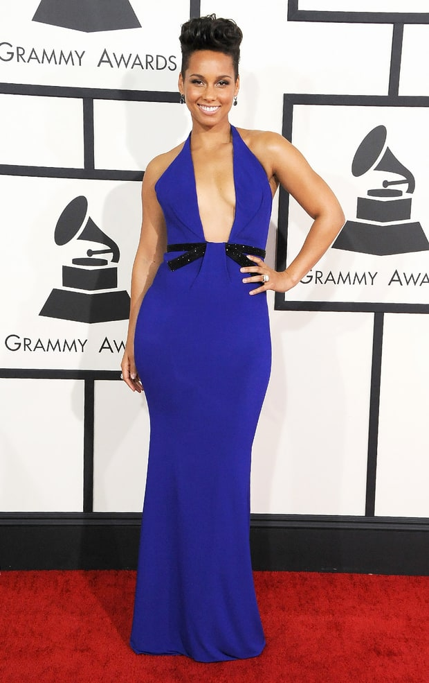 Alicia Keys: 2014 Grammy Awards