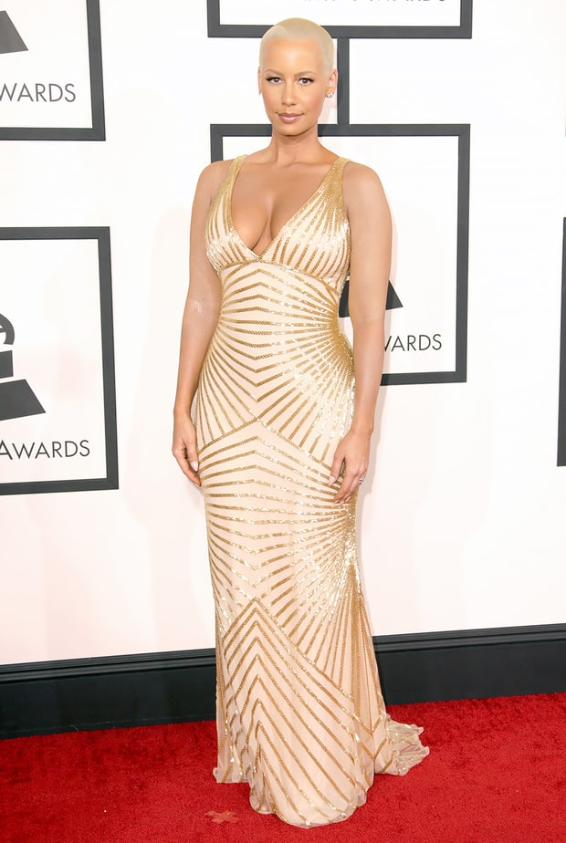 Amber Rose: 2014 Grammy Awards