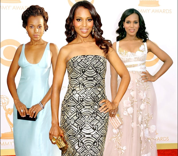 Kerry Washington's Red Carpet Style