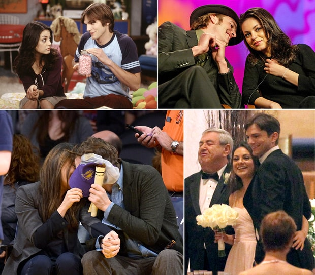 Ashton Kutcher and Mila Kunis' Hot Romance