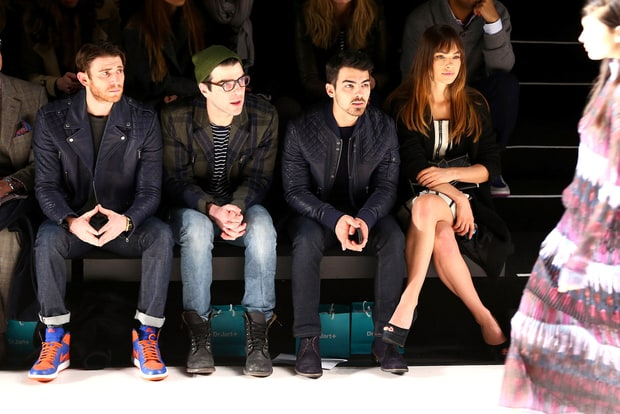 Bryan Greenberg, Zachary Quinto, and Joe Jonas