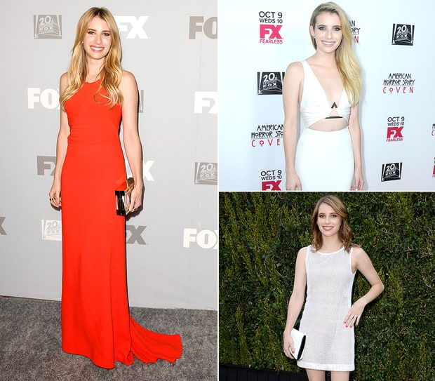 Emma Roberts' Red Carpet Style