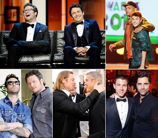 20 Unexpected Celebrity Bromances That Give Us the Feels ...