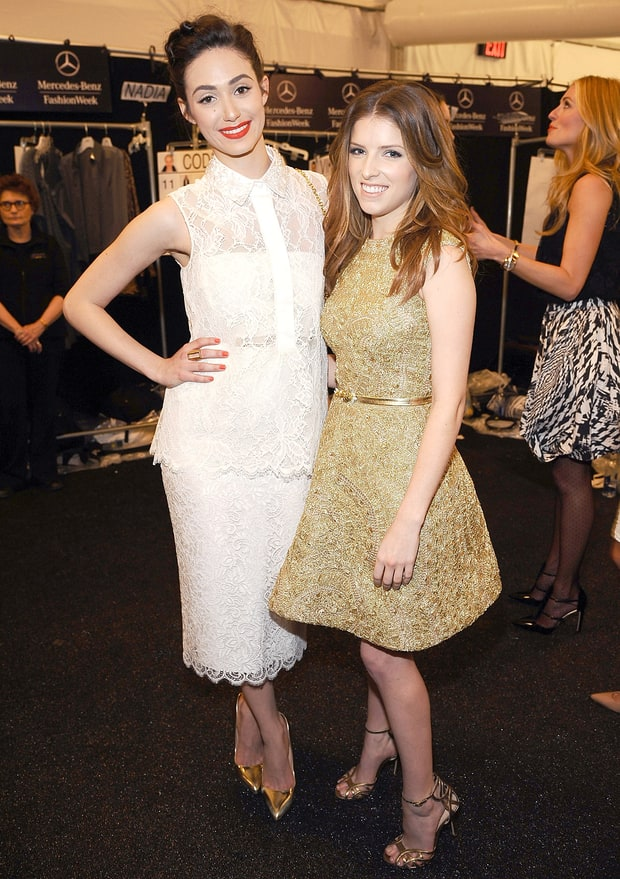 Emmy Rossum and Anna Kendrick