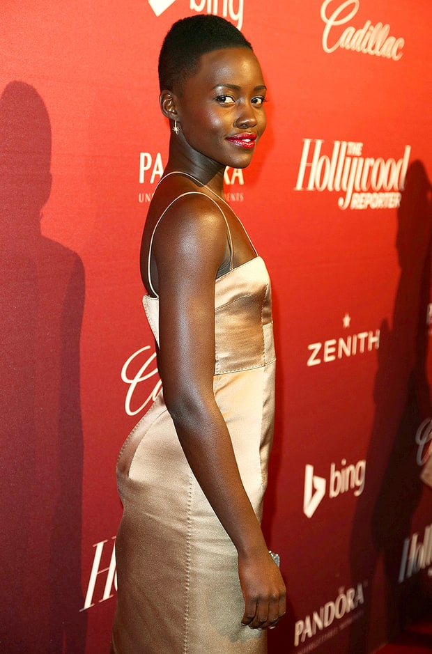 Lupita Goes for Gold