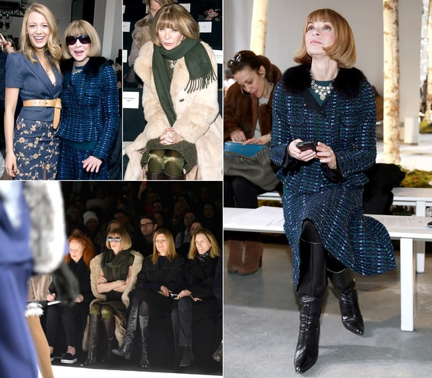 The Many Focused Faces of Anna Wintour
