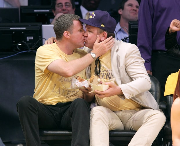Will Ferrell and John C. Reilly