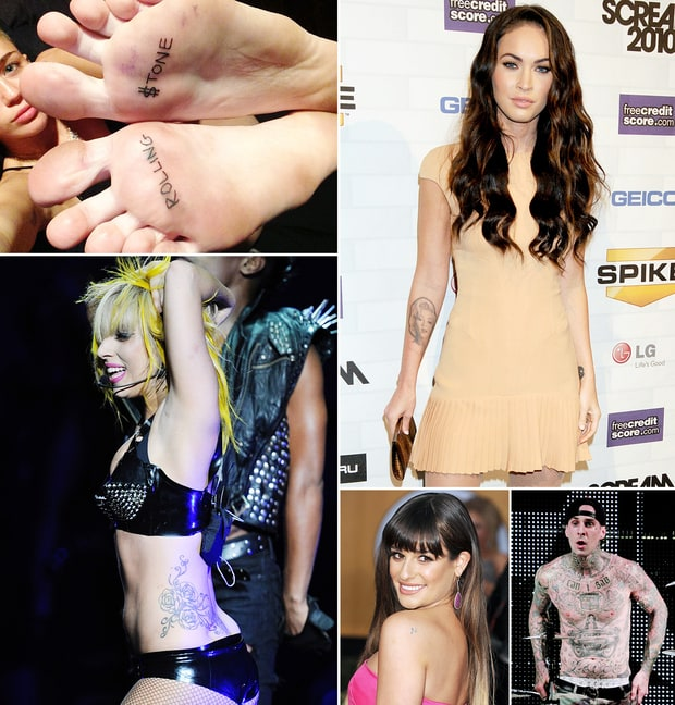 Celebs' Crazy Tattoos
