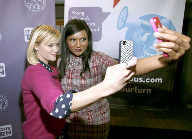 Reese Witherspoon and and Mindy Kaling