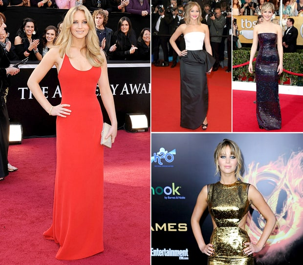 Jennifer Lawrence's Best Dresses