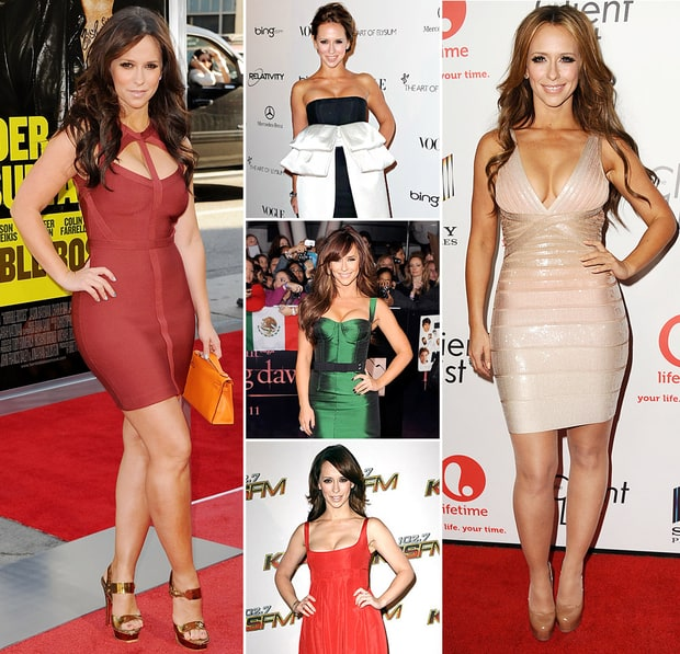 Jennifer Love Hewitt's Cleavage-Baring Dresses