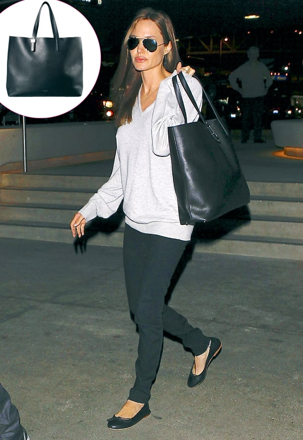 Angelina Jolie's Black Bag
