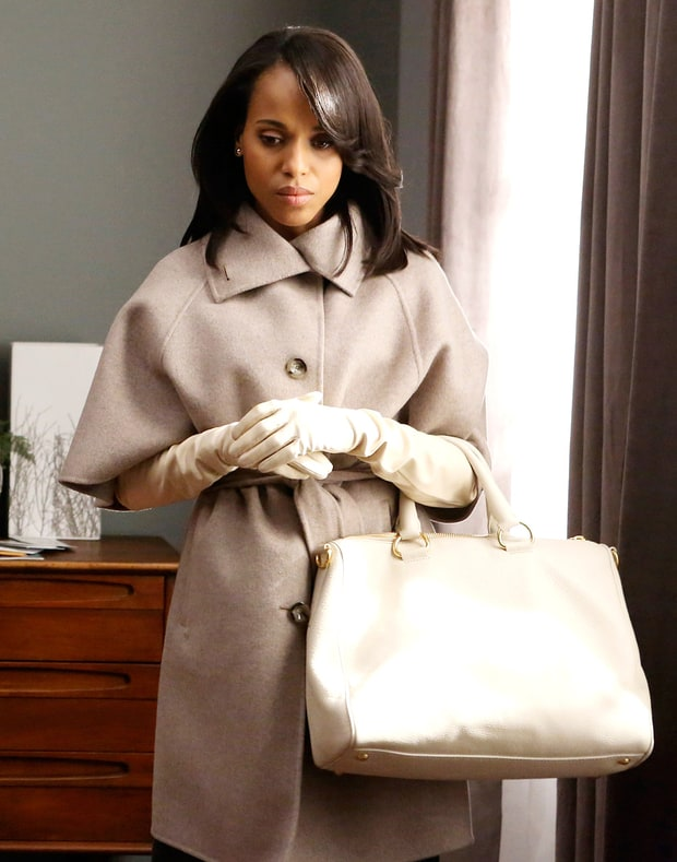 Max Mara Coat and Prada Purse