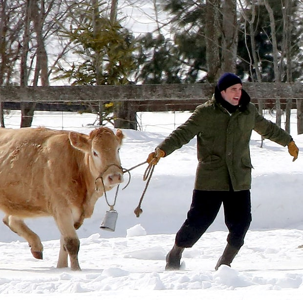 R-Patz Has a Cow!