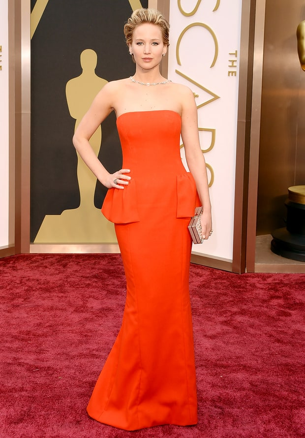 Jennifer Lawrence: 2014 Oscars