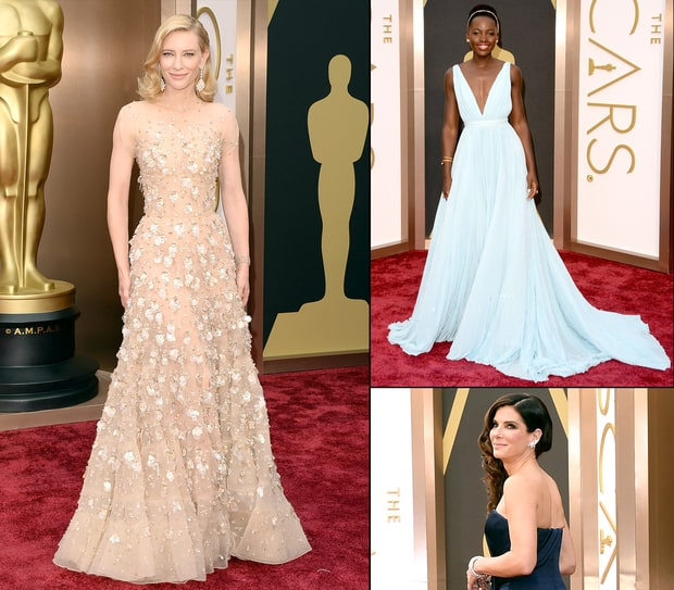Best Dressed Stars at the 2014 Oscars