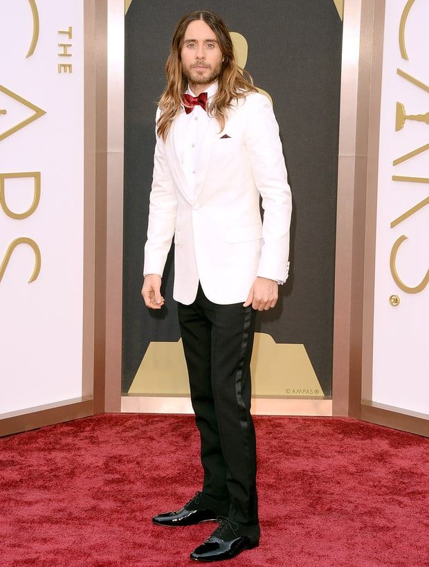 Jared Leto | Best Dressed Men at the 2014 Oscars | Us Weekly