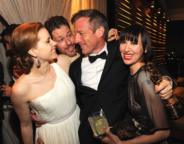 amy adams spike jonze and karen o oscars 2014 after