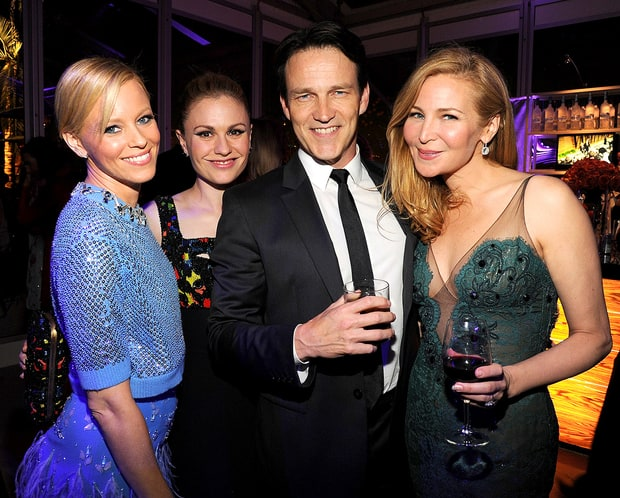 Elizabeth Banks, Anna Paquin, Stephen Moyer and Jennifer Westfeldt