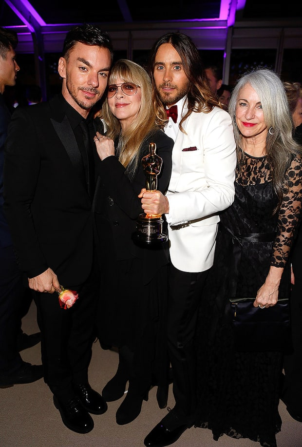 Jared Leto and Stevie Nicks