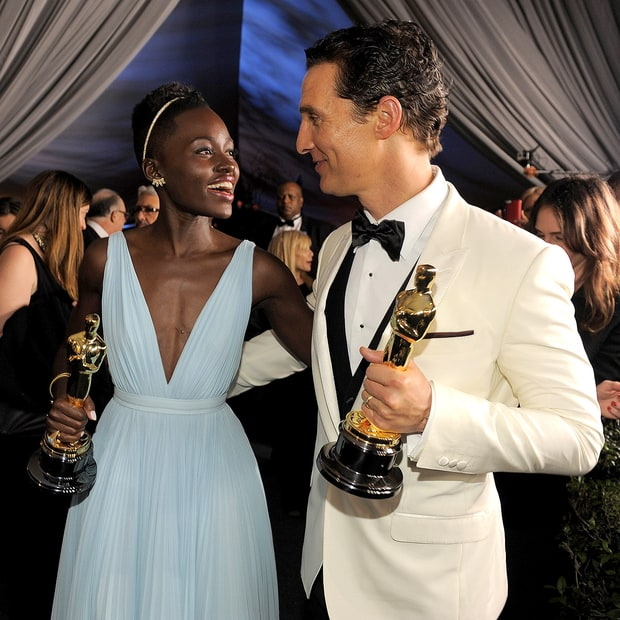 Lupita Nyong'o and Matthew McConaughey